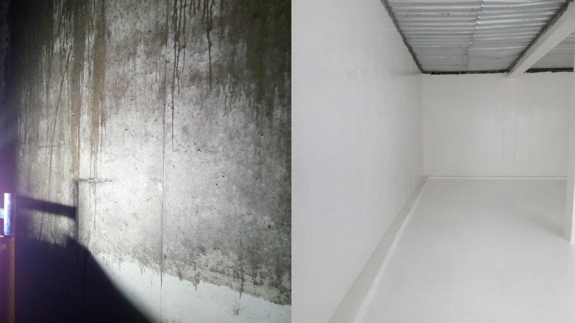 До и после применения мастики MARISELA 300